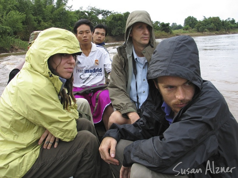 Ani DiFranco and Damien Rice - boat ride to Burma, escorted by US Campaign for Burma http://uscampaignforburma.org/